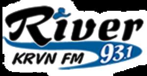 KRVN-FM - Image: KRVN River 93.1 logo