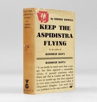 Keep the Aspidistra Flying - First edition