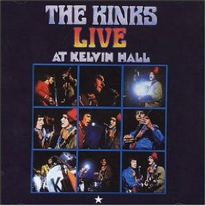 Live at Kelvin Hall - Image: Kinks Live at Kelvin Hall