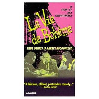 La Vie de Bohème (1992 film) - VHS cover