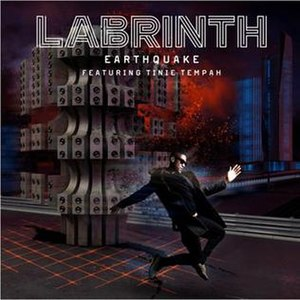 Earthquake (Labrinth song) - Image: Labrinth Earthquake featuring Tinie Tempah cover