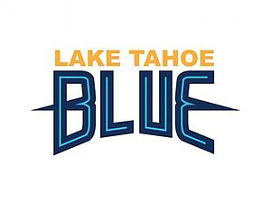 Tahoe Icemen - Team logo when the franchise played as the Lake Tahoe Blue 2013–2015.