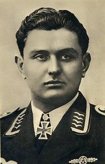 Leopold Steinbatz German, Austrian born, World War II fighter pilot
