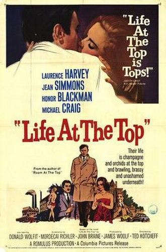 Life at the Top (film) - Original film poster
