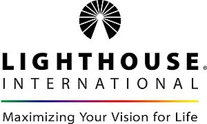 Lighthouse Guild - Logo of predecessor organization Lighthouse International
