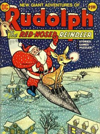Limited Collectors' Edition - Cover to Limited Collectors' Edition C-20, the first of the series (Christmas 1972). Art by Rube Grossman.