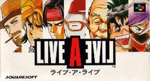 Live A Live - Original logo