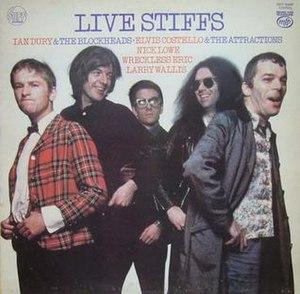Live Stiffs Live - Image: Live Stiffs reissue cover