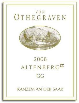Weingut von Othegraven - Image: Logo von Othegraven 2008 Altenberg GG