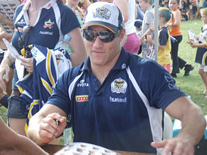 North Queensland Cowboys - Former Cowboys' lock Luke O'Donnell