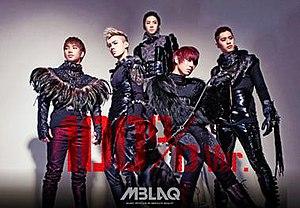 100% Ver. - Image: MBLAQ 4th Mini album