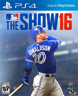 MLB The Show 16 - American cover art featuring Josh Donaldson