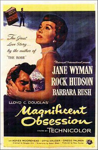 Magnificent Obsession (1954 film) - Film poster by Reynold Brown