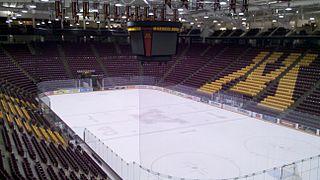 3M Arena at Mariucci ice hockey arena in Minneapolis, Minnesota
