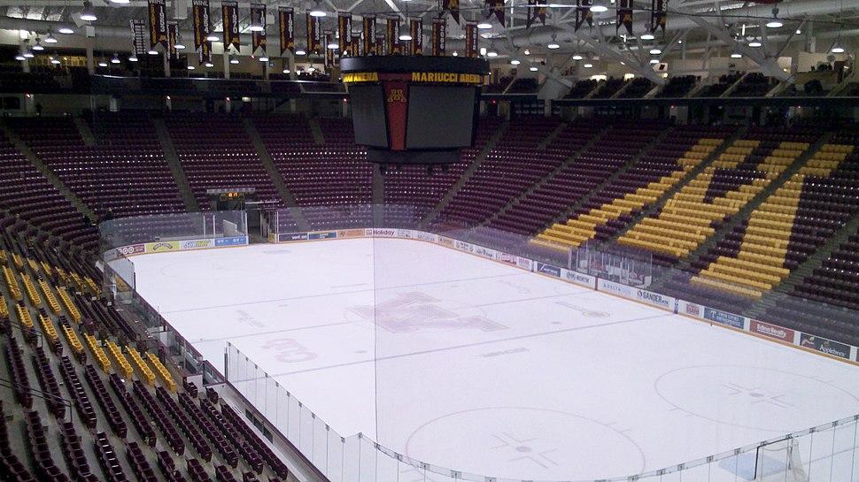 Mariucci Arena 11-16-12