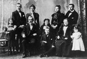 Old style family photo