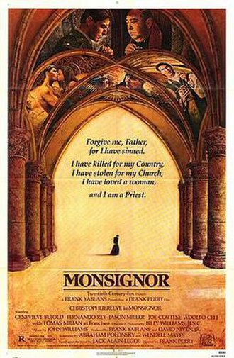 Monsignor (film) - Theatrical release poster
