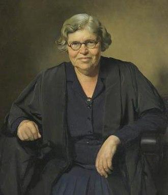 Myra Curtis - portrait by Herbert James Gunn