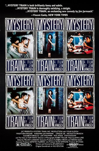 Mystery Train (film) - French theatrical poster