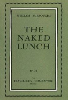<i>Naked Lunch</i> Novel by William S. Burroughs