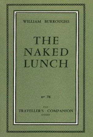Naked Lunch - Cover of the 1959 Olympia first edition, with misprinted title