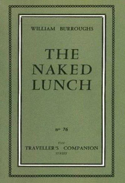 Picture of a book: Naked Lunch