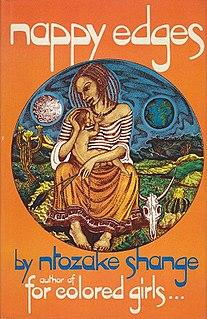 <i>nappy edges</i> book by Ntozake Shange