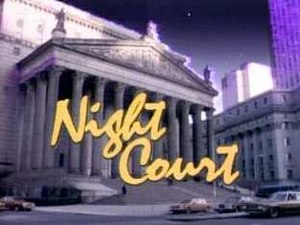 Night Court - Image: Night Court title screen