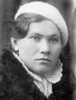 Nina Gnilitskaya Hero of the Soviet Union