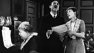 Not for Sale (film) - Mary Brough, George Bellamy and Maud Gill as three of the boarding house residents