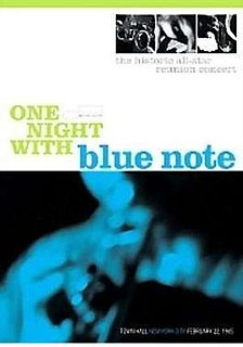<i>One Night with Blue Note</i> 1985 film by John Jopson