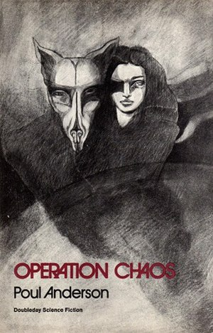 Operation Chaos (novel) - Cover of first edition (hardcover)