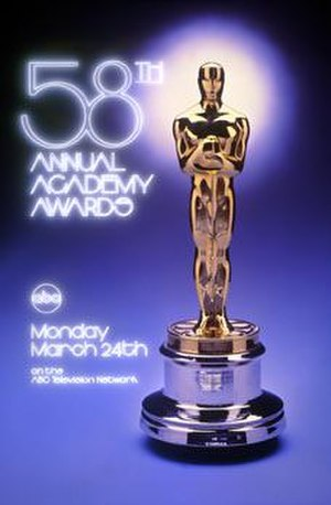58th Academy Awards - Image: Oscar 1985