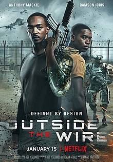 Outside the Wire 2021 USA Mikael Håfström Anthony Mackie Damson Idris Enzo Cilenti  Action, Adventure, Fantasy