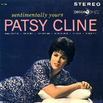 Sentimentally Yours - Image: Patsy Cline Sentimentally Yours Original