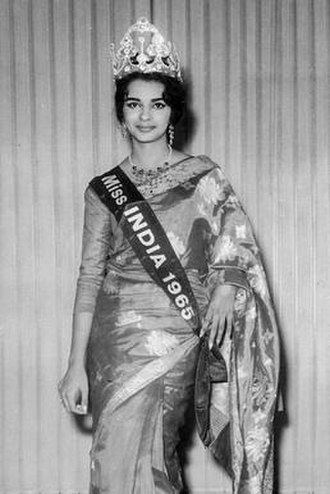 Persis Khambatta - Persis Khambatta at the Femina Miss India in 1965