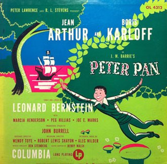 Peter Pan (1950 musical) - album of original Bernstein stage adaptation