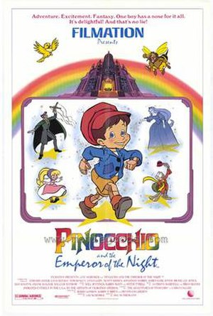 Pinocchio and the Emperor of the Night - Theatrical release poster
