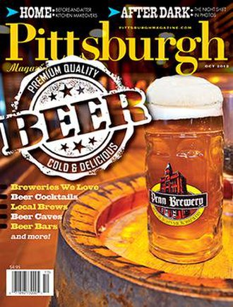 Pittsburgh Magazine - October 2012 cover