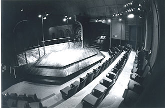 The Shakespeare Center -  The Shakespeare Center stage, home of the Riverside Shakespeare Company, Amsterdam at West 86th Street, 1982.