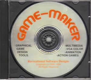 Game-Maker - Game-Maker 3.0, CD-ROM edition