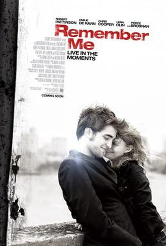 Remember Me (2010 film) - Image: Remember me film poster