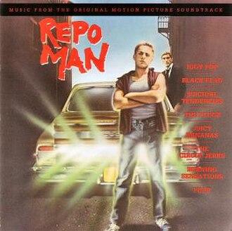 Repo Man (film) - Image: Repo Man CD cover