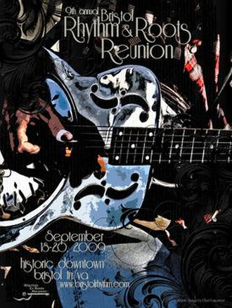 Bristol Rhythm & Roots Reunion - Image: Rhythm & Roots 2009 Promo Poster