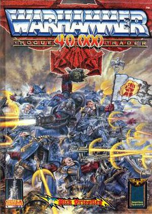Warhammer 40,000 - Rogue Trader - the first edition of Warhammer 40,000