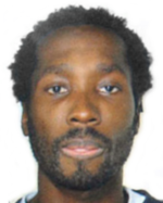Mug shot of Rudy Hermann Guede taken by police some time before his arrest for the murder of Meredith Kercher