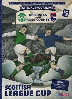 2016 Scottish League Cup Final (March) Football match