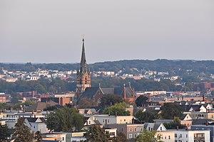 Ste. Marie Church (Manchester, New Hampshire) - Image: Saint Marie Church