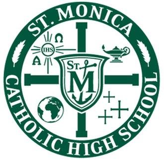 Saint Monica Catholic High School - Image: Saint Monica Catholic High School logo