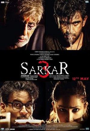Sarkar 3 - Image: Sarkar 3 poster